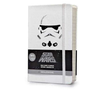 12 months - Star Wars - Daily Planner - Pocket - White hard cover