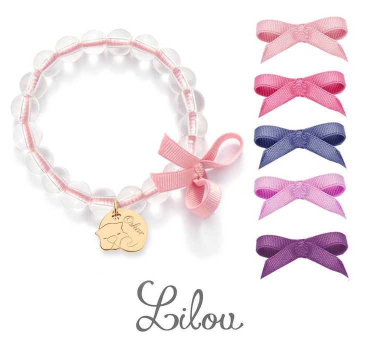 #cat #ribbon #bemylilou #childrensday #bracelets #happy #sweet #smile #love #jewelry #engraving