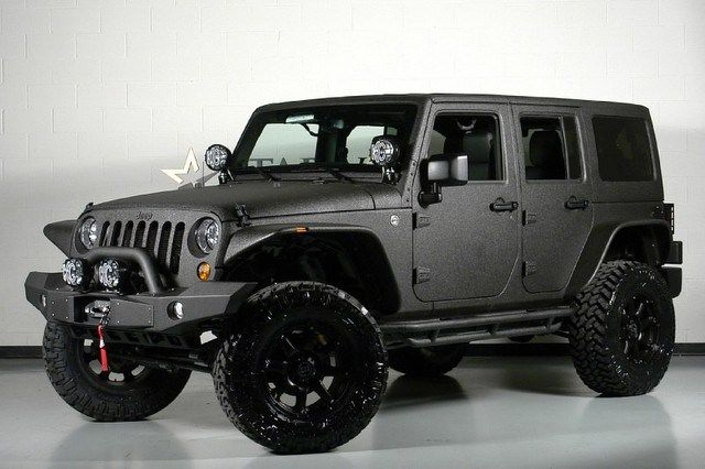 Great Fixed Up Jeeps