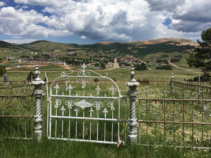 Mt Pisgah Cemetery in Cripple Creek, Colorado.