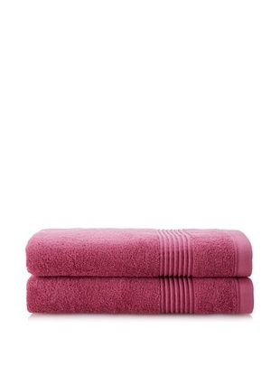 53% OFF Chortex Ultimate Set of 2 Bath Sheets, Rose Wine