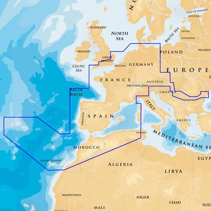 Navionics XL9 46XG - France, Iberia, Netherlands, EU Inland Waters - SD Card - https://www.boatpartsforless.com/shop/navionics-xl9-46xg-france-iberia-netherlands-eu-inland-waters-sd-card/
