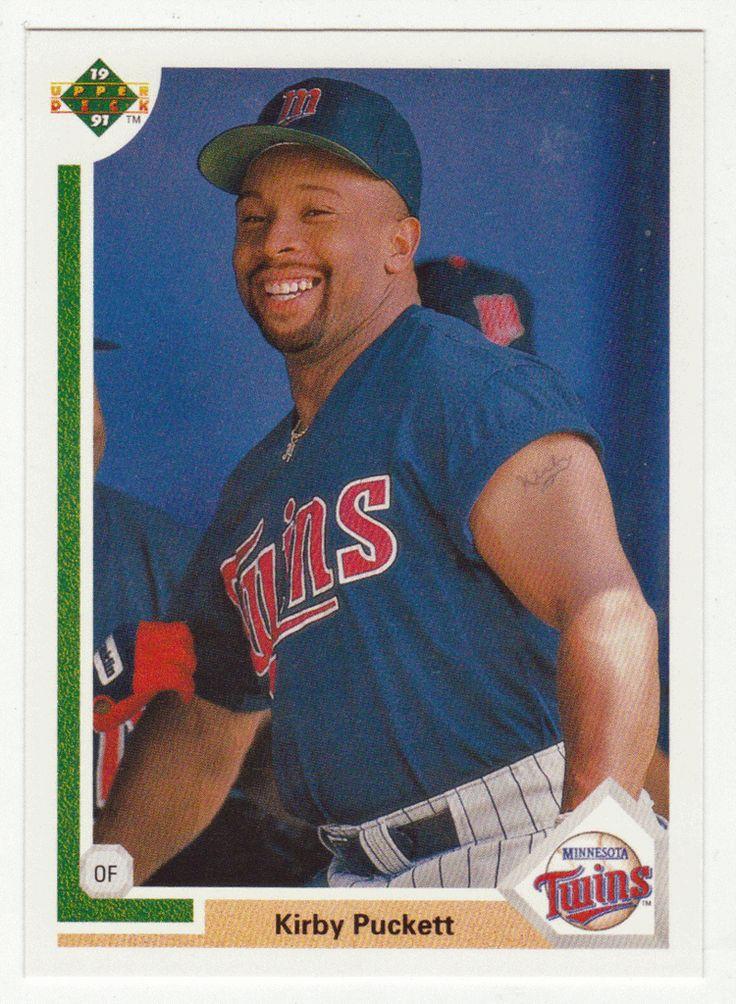 Kirby Puckett # 544 - 1991 Upper Deck Baseball
