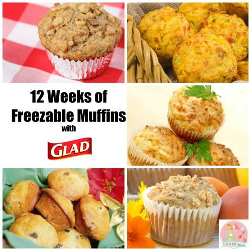 12 Weeks of Freezable Muffins with GLAD   Stay at Home Mum