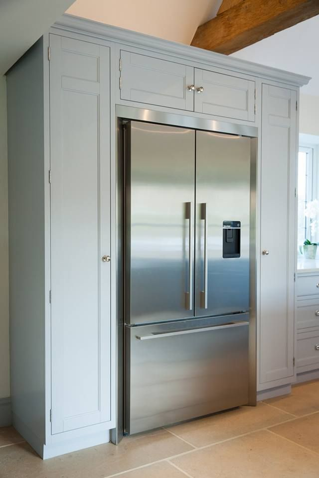 This Large Fisher And Paykel Fits Seamlessly Inside Our