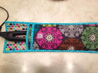 Curling Iron Cover--Tutorial