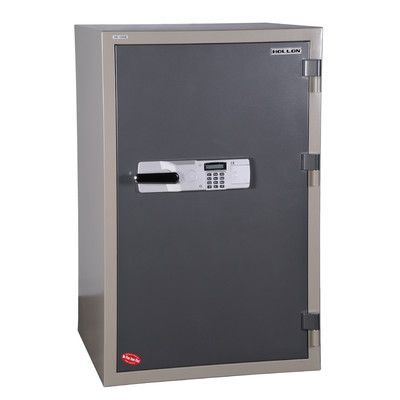 Hollon Safe 2 Hr Fireproof Electronic Lock Commercial Drawer Office Safe Size: 8.13 CuFt