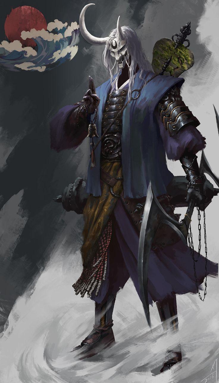 ArtStation - Superb martial arts of the Ninja, Xiaojian liu