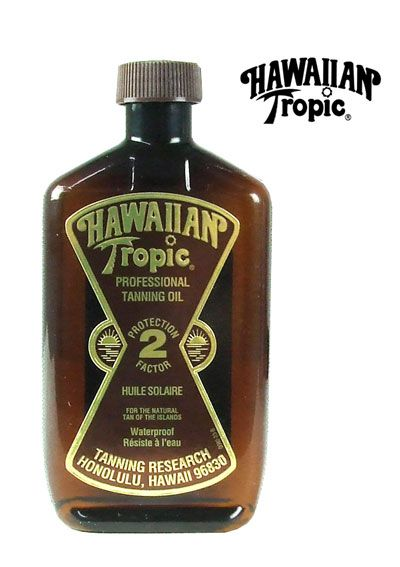 """Notice the SPF. I have told my child about """"tanning oil."""" I miss the smell -- brings summer beach memories right back."""
