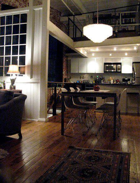 Richard & Julie's Elegant Industrial Loft