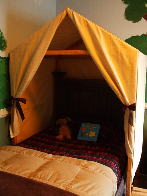 Curious George inspired bedroom