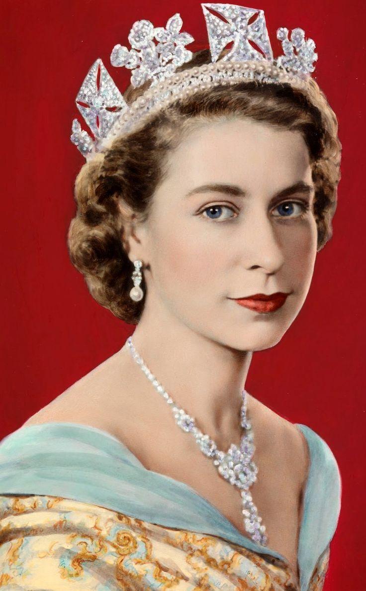 QUEEN ELiZABETH II OF ENGLAND / iSABEL II DE INGLATERRA