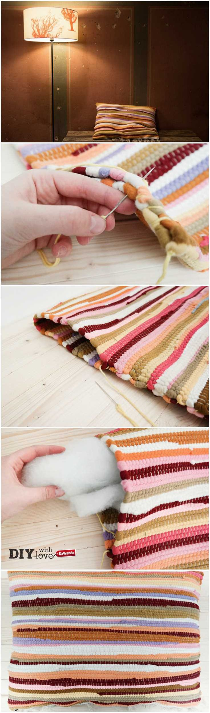 17 migliori idee su fare un tappeto su pinterest tappeti - Tappeto di giunchi ...