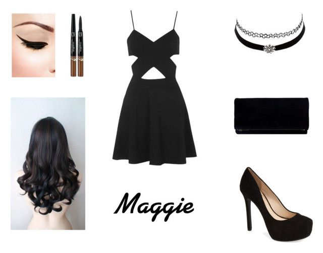 """""""Festa Maggie"""" by kat-martinez25 ❤ liked on Polyvore featuring Jessica Simpson, Charlotte Russe and Topshop"""