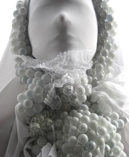Fabric Sculpture by Rowan Mersh