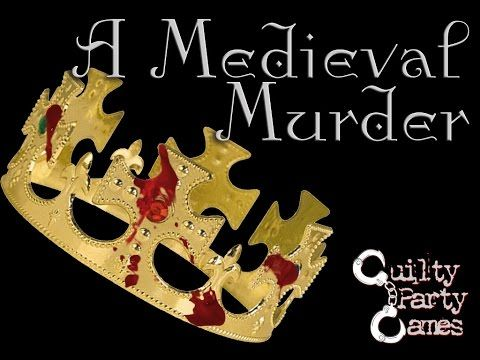 A Medieval Murder Murder Mystery Dinner Party Game
