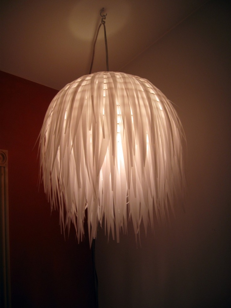 comment faire une lampe en bout de papier