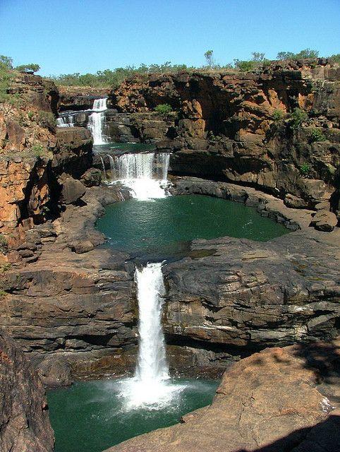 ✮ Waterfalls in Mitchell River National Park, Kimberley, Australia.