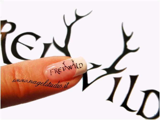 Freiwild Nägel Nageldesign Nailart French Wwwnagelstudioit