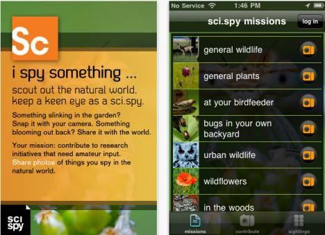 SciSpy iPhone App Turns Citizen Science Into Neighborhood Adventure Hunt