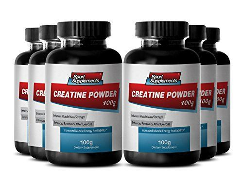 Pure Creatine Pills - Creatine Powder 100mg - Increase Weight Gains with Top Creatine Powder (6 Bottles) *** Click on the image for additional details.