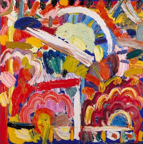 the colour of ideas: Gillian Ayres