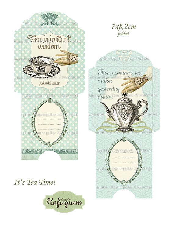 how to put the tea bag in the holder