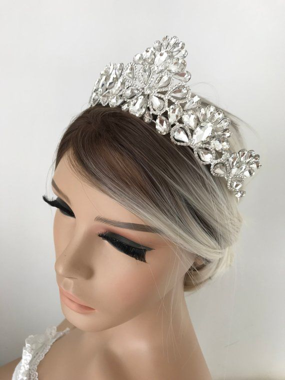 Wedding Tiara With A Simple Scroll Design Wedding Jewelry Wedding Accessories Bridal Jewelry