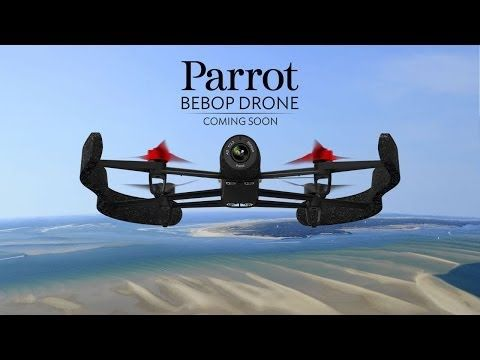 The Parrot Bebop Drone is a new lightweight quadcopter by Parrot featuring a high-definition camera, its own Wi-Fi hotspot, and a navigation computer that is eight times more powerful than the one onboard its predecessor, the Parrot AR.Drone 2.0.