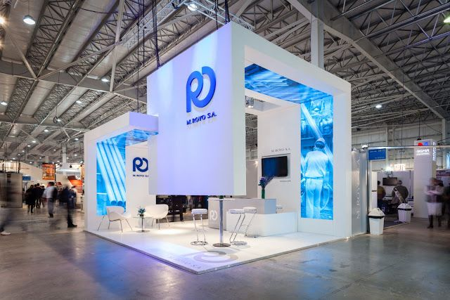 Creative Point of purchase displays and exhibition booths for trade-shows…