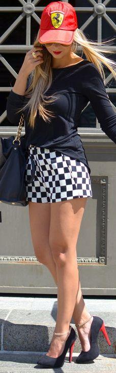 Zara Shorts & Shirt