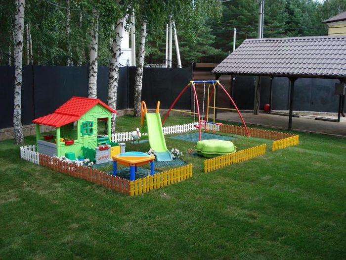 Обустраиваем детскую площадку на дачном участке (1 ...