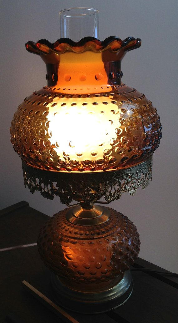 This is a gorgeous vintage hobnail and brass hurricane for Lamp won t light up
