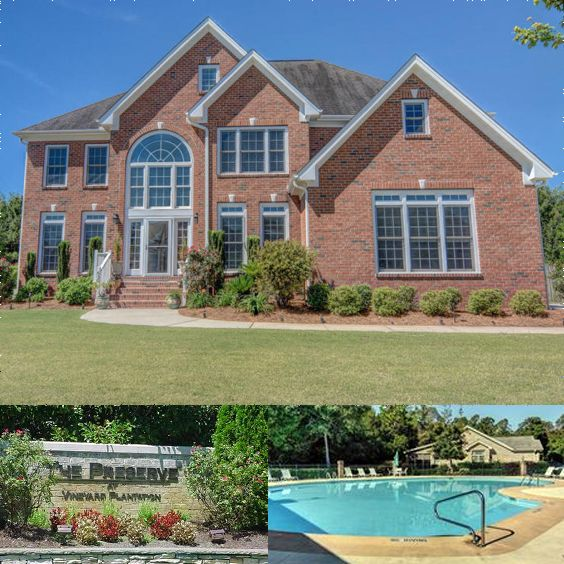 Homes for sale at Vineyard Plantation in Wilmington NC. #realestate #dreamhome #buyingahome