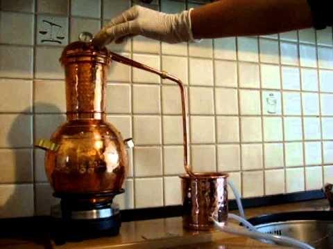 Video of Distillation of Lemon Balm
