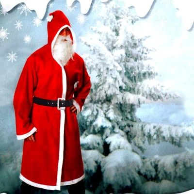 4PC DELUXE CHRISTMAS CLOAK