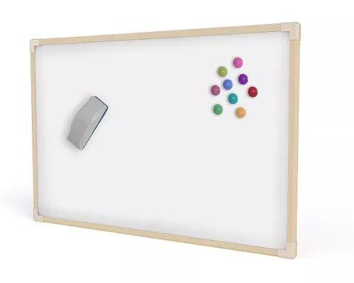 Quadro Branco Magnético Madeira Neo 60 X 40 Cm - R$ 42,90
