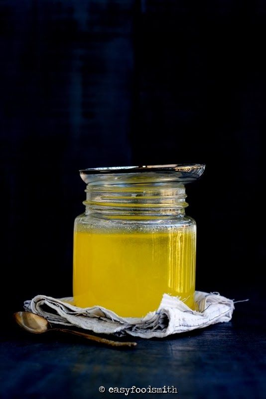 Home Made DESI GHEE (Indian Clarified Butter) | Easy Food Smith