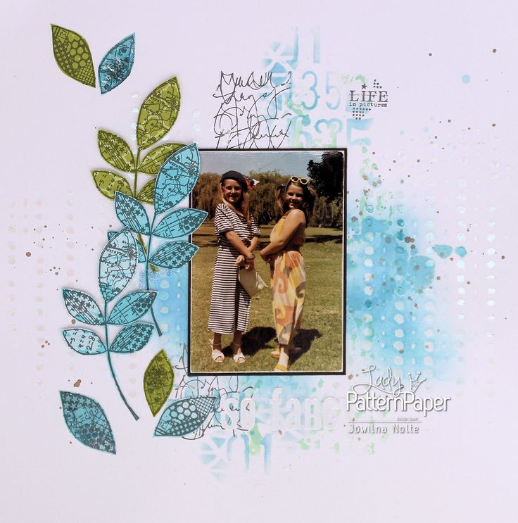 I love the simplicity of this layout one more memory captured & filed. Follow my easy step by step to create your own stamped simplicity layout