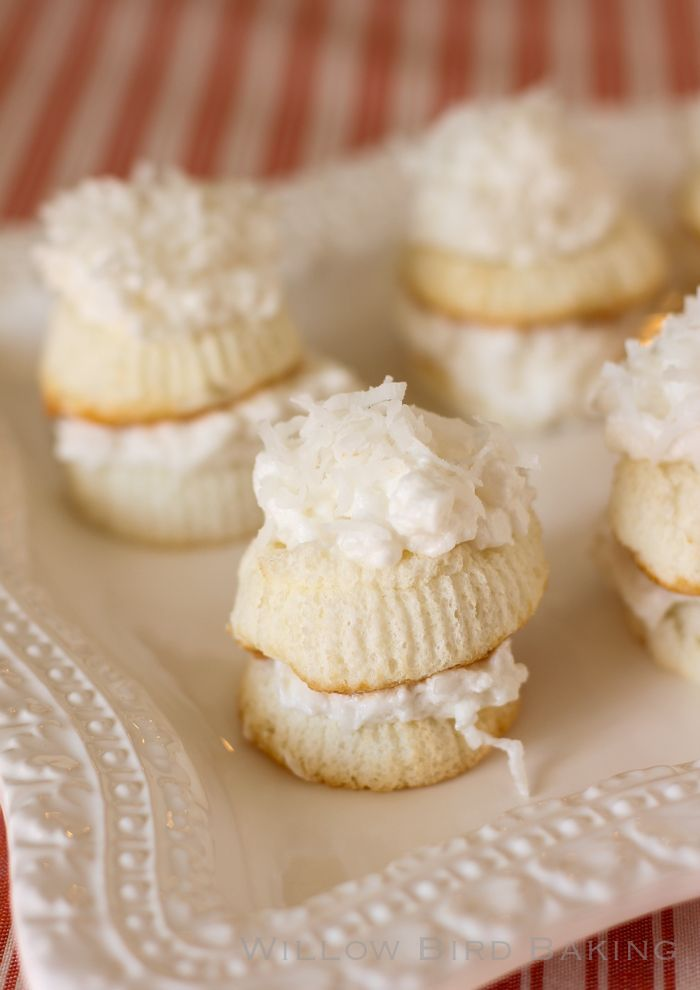 Coconut cakes, Skinny and Coconut on Pinterest