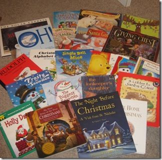 Christmas month traditions — 25 Christmas books, Christmas scripture chains and gift exchange ideas...