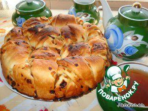 """Постный пирог """"Луковник"""" на рисовом отваре - кулинарный рецепт"""