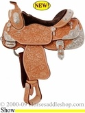 Billy Cook Show saddles.  #Billycook #saddles #horses