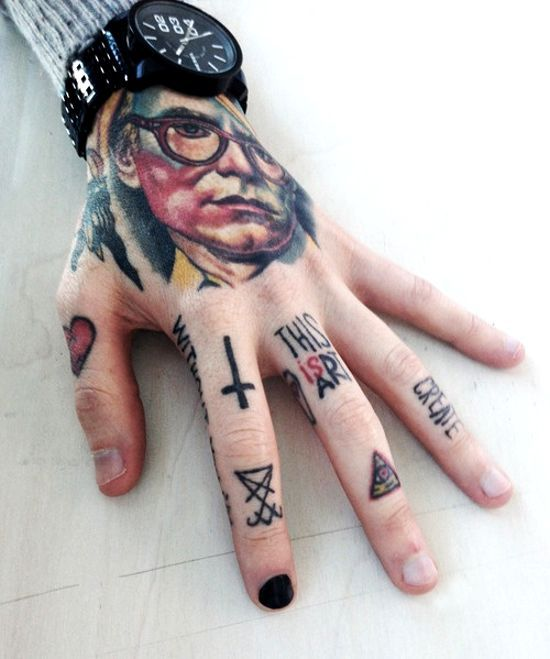 50 awesome finger tattoos that are insanely popular tiny for World in hands tattoo