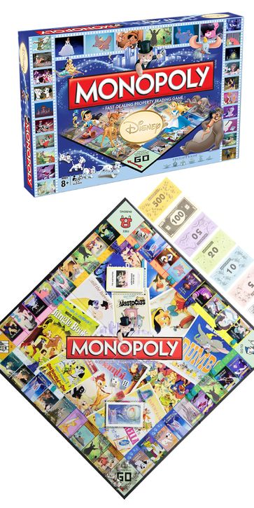 We've all played Monopoly before... but have you played Disney Monopoly?!