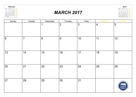 2018 calendars by month