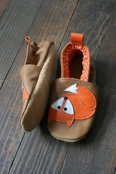 chaussons renard