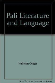pali language and literature