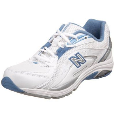 New Balance Women\u0027s WW846 Walking Shoe,White/Blue,5 2A New Balance.