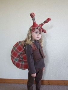 Snail Costume.. koah would never, but surely some kid would.